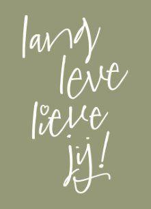 Lang leve lieve jij! :-) #Hallmark #HallmarkNL #happybirthday #birthday #verjaardag #jarig #gefeliciteerd #feestje