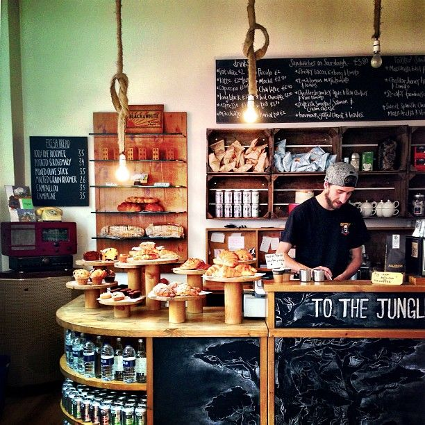 Allpress Espresso Bar in Shoreditch in #london - @buzzispace #100design