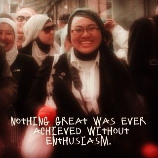 Nothing GREAT was ever Achieved without ENTHUSIASM #quote #motivasi