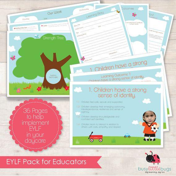EYLF PACK FOR EDUCATORS