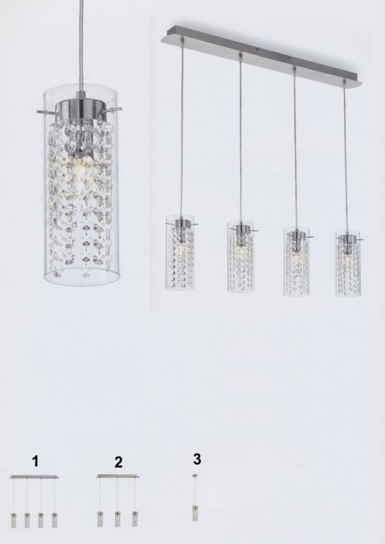 Svietidlá.com - Ideal-lux - Iguazú - Moderné svietidlá - svetlá, osvetlenie, lampy, žiarovky, lustre, LED