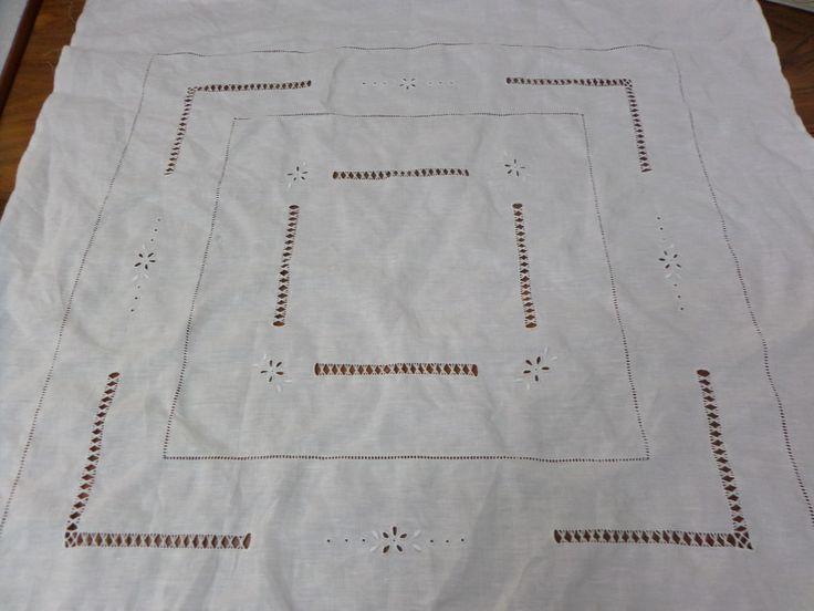 Tovaglietta da the in puro lino 80x80