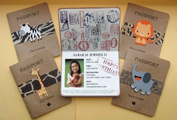 passaporte safari