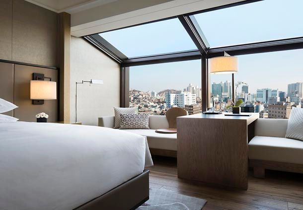 Hotel guest room in Seoul