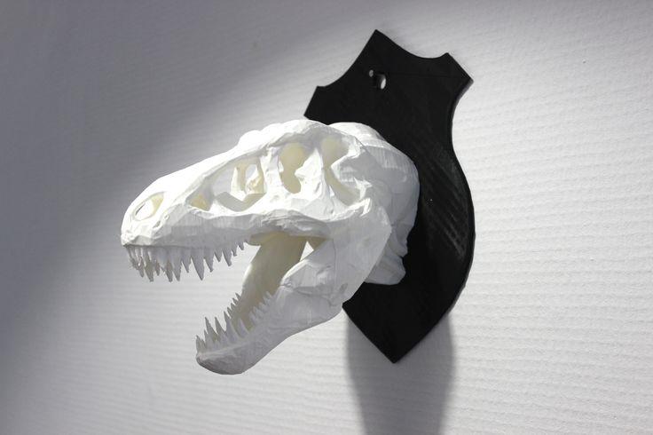 Trophée T REX - ORBITALE. www.imprimerieorbitale.fr Découvrez l'impression 3D, autrement.