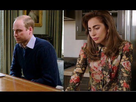 Prince William & Lady Gaga get their #HeadsTogether to talk Mental Healt...