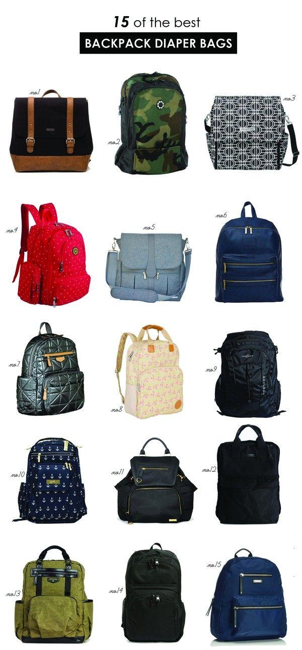 The best backpack diaper bags | Hellobee
