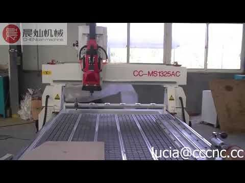 linear type auto tool changer cnc router  with rotary 4 axis cnc machine