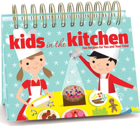 Cooking in the kitchen with the kids
