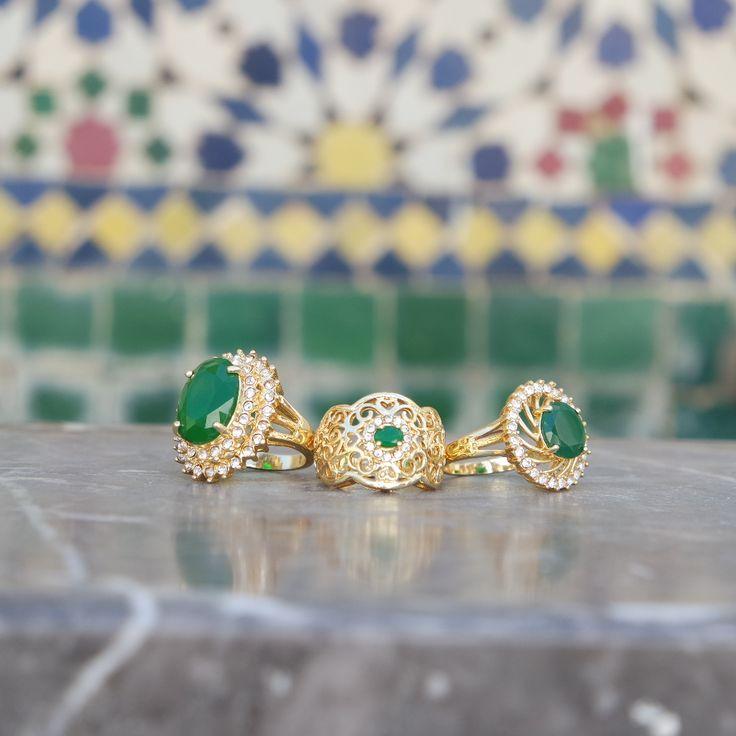 Sultan Ring zum Stahlen schön by #Zwina Accessoires