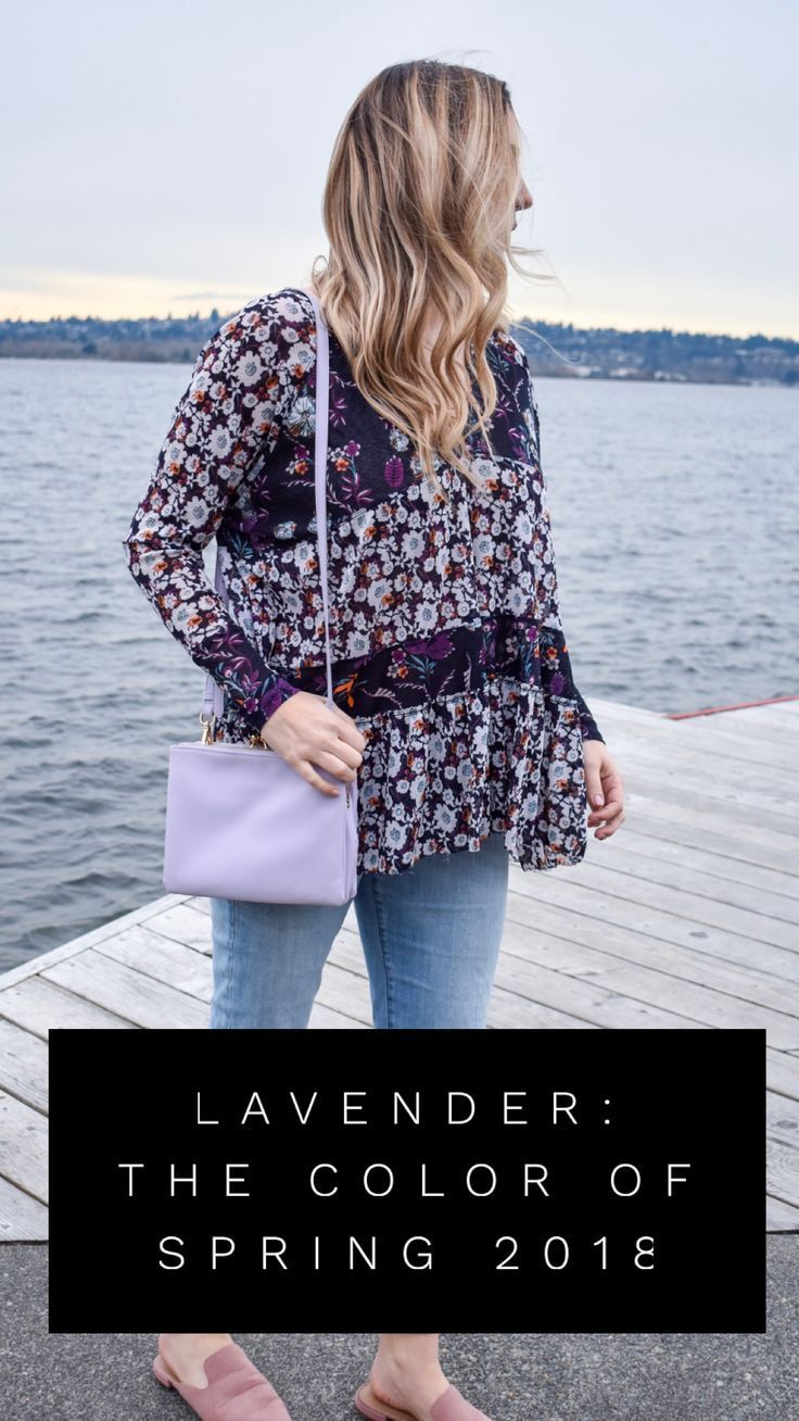 Lavender: The color of Spring 2018