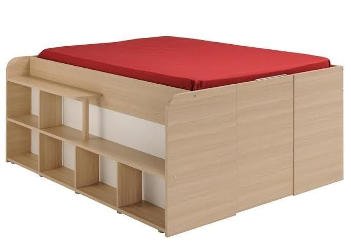 Parisot Space Up Cabin Bed with Storage - Kids Beds