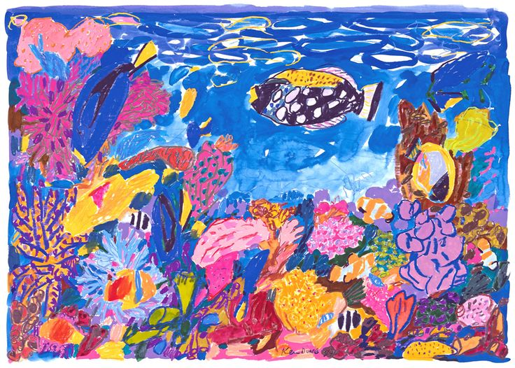 I have this one! Aquarium, August I, 1994 Limited Edition Print A beautiful digital reproduction of 'Aquarium August Ist' 1994, printed on 100% cotton ra...