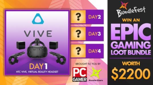 Bundle Stars - Win an HTC Vive STEAM VR Gaming Headset - http://sweepstakesden.com/bundle-stars-win-an-htc-vive-steam-vr-gaming-headset/
