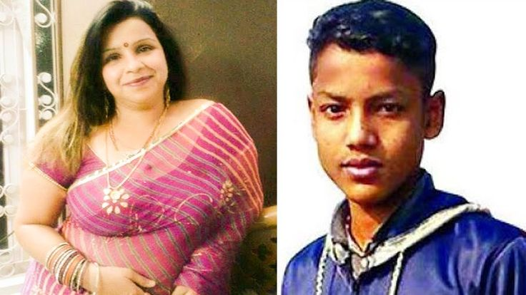 বয়স্ক এই আন্টির সাথে যা করলো এই কিশোর ছেলে Desi Aunty with Young Boy | A...
