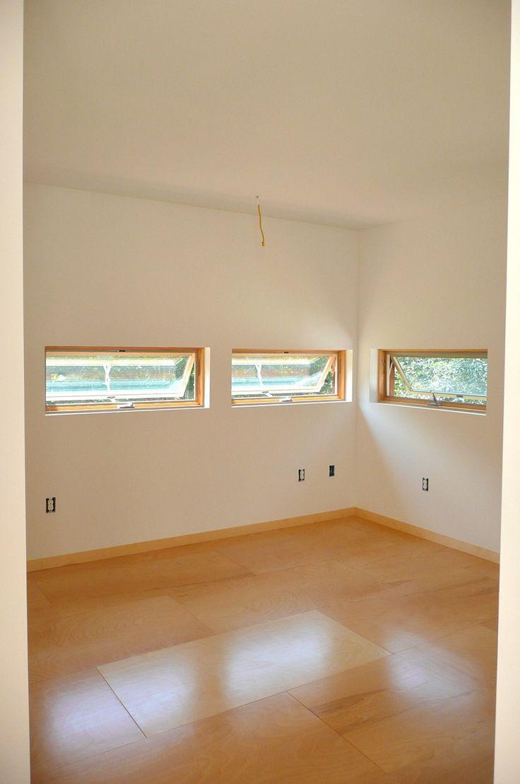 birch plywood floors
