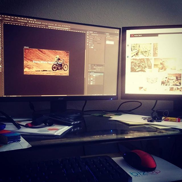 Designing up some landing page images, loving this snowy Colorado day!