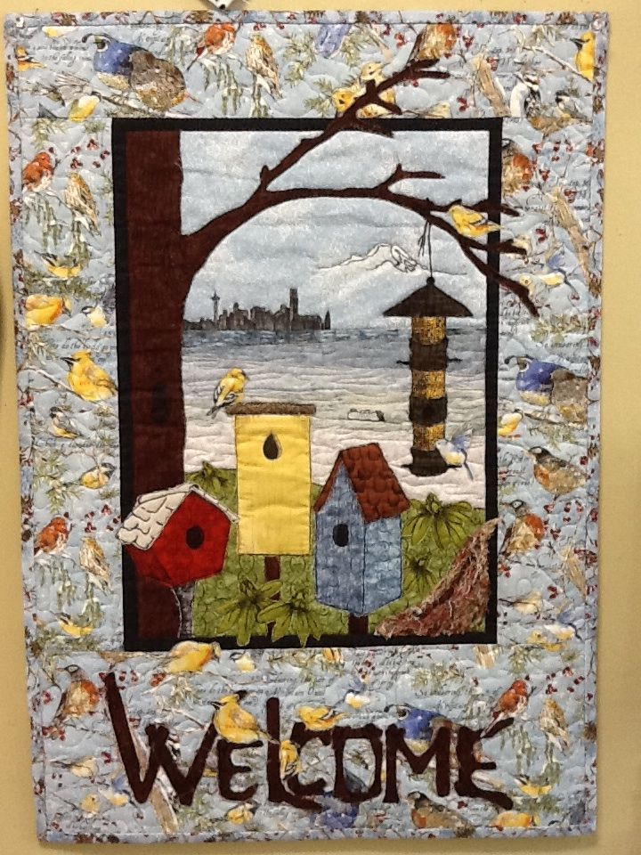 137 Best Bird And Birdhouse Quilts Images On Pinterest
