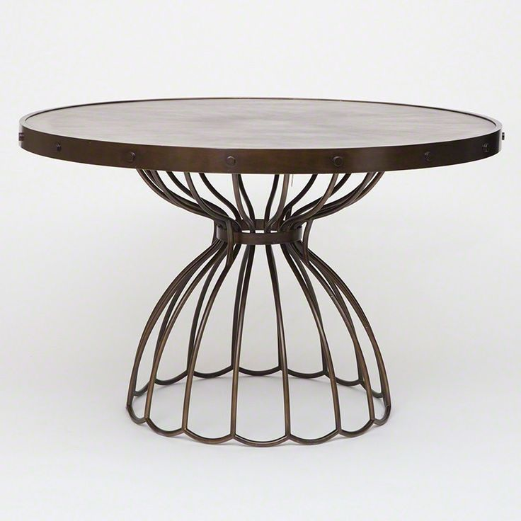 Great Studio A Florentine Round Dining Table Ideas