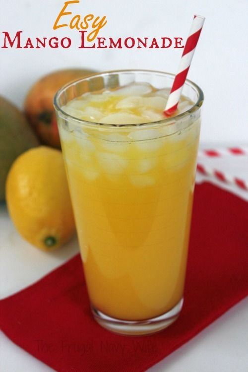 This Mango Lemonade Recipe is perfect for summer entertaining. It' super easy plus there is a great alternative for a super healthy drink!