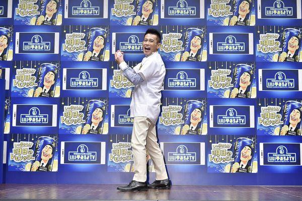 柳沢慎吾が2倍速で始球式「本当は15分の始球式、1分にまとめたよ」…『明日のレモンサワー』新発売記念イベント