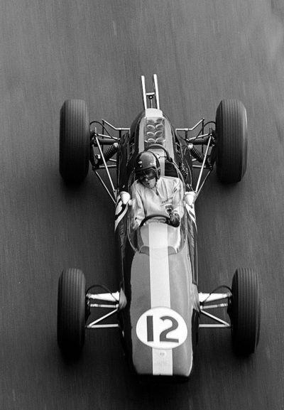 Delightful Jim Clark, Lotus Climax 25, 1964 Monaco Grand Prix