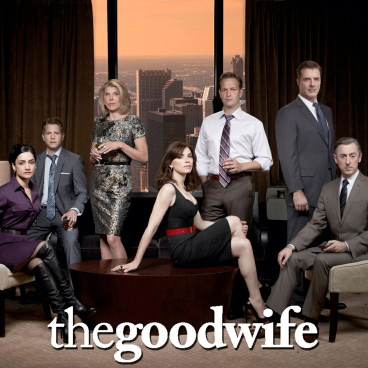 """The Good Wife. """"Alicia has been a good wife to her husband, a former state's attorney. After a very humiliating sex and corruption scandal, he is behind bars. She must now provide for her family and returns to work as a litigator in a law firm. Premiered on CBS on September 22, 2009. It is a heavily serialized show with season-long story arcs that also features stand alone procedural story lines that will be resolved or concluded by the end of each episode."""""""