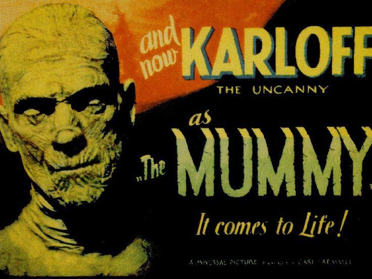 Boris Karloff As The Mummy From Universal Horror Film Classic Movie Wallpaper