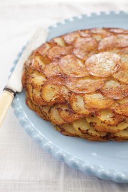 Potato Galette - If you want a fancy potato dish, try this! It's a bit labor intensive, but after trying over 5 recipes looking for the perfect galette... this one wins!