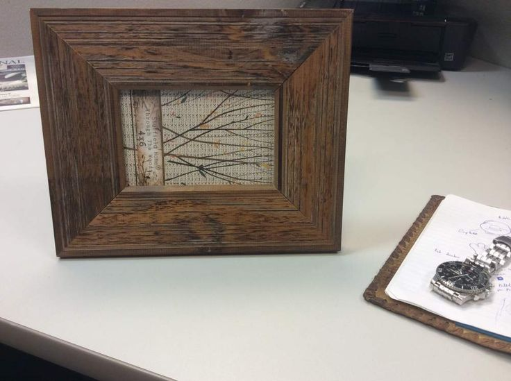 NEW Rustic Wooden Picture Frame