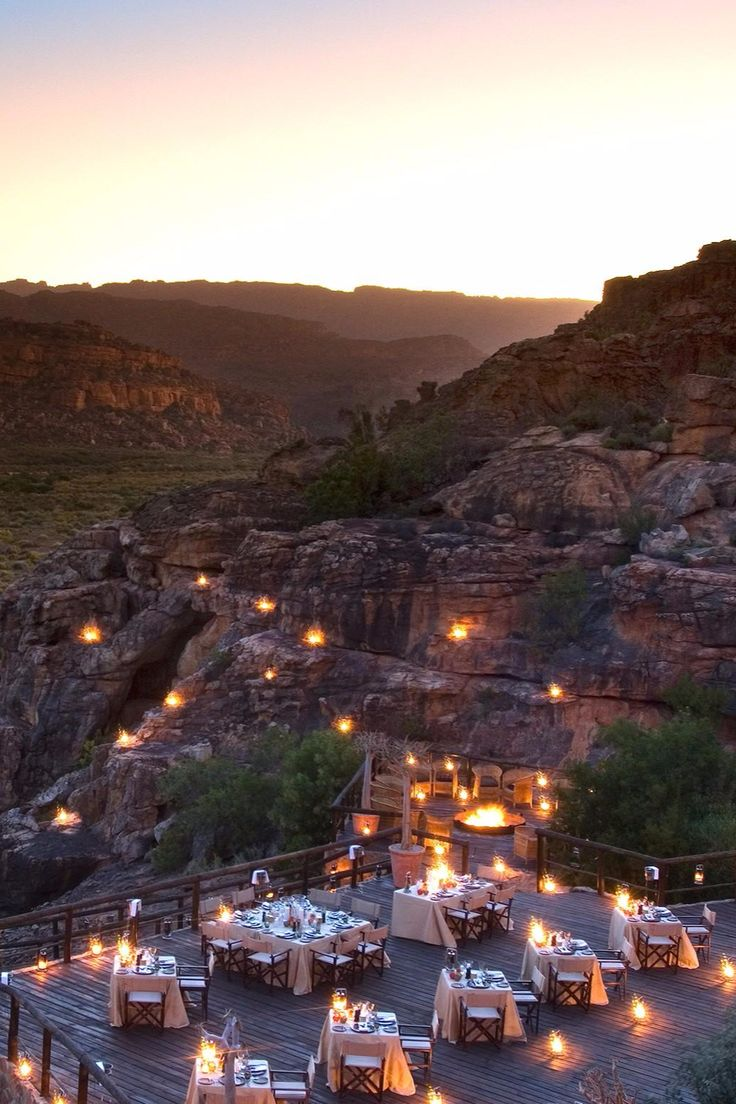 New fave dinner spot: The Embers. Bushmans Kloof Wilderness Reserve (Clanwilliam, South Africa) - Jetsetter