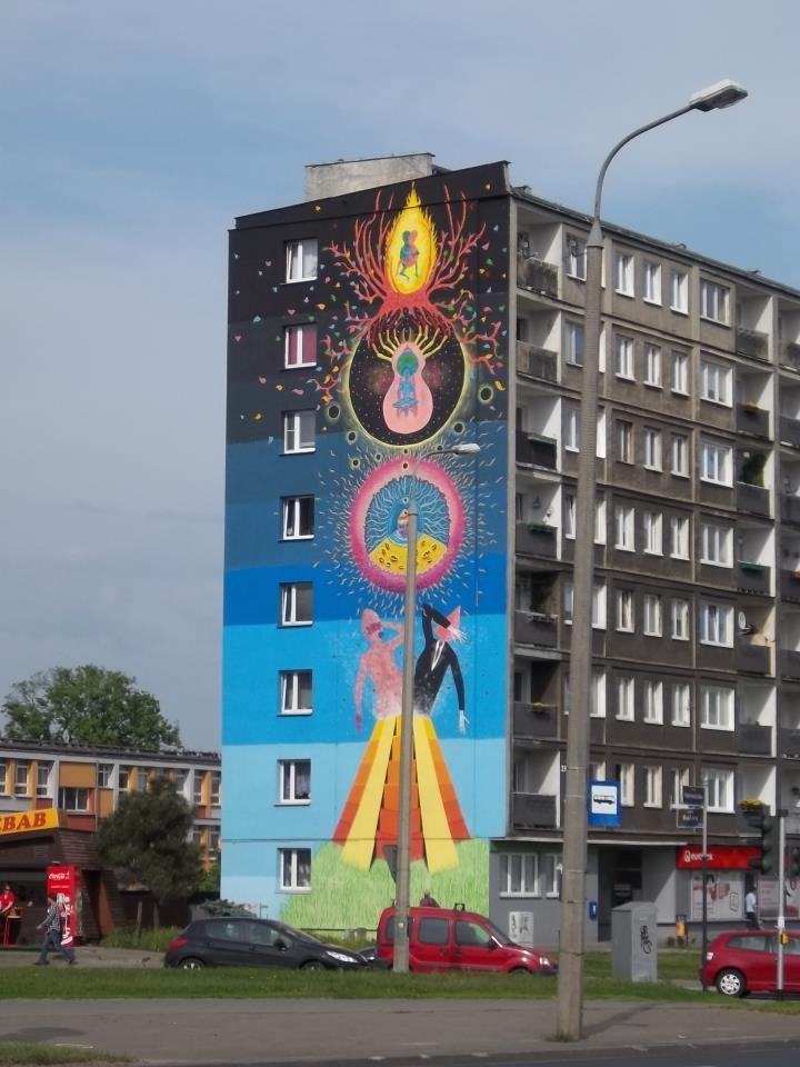 Gola | Hetmańska 101 - Festiwal Murali Outer Spaces #Poznan #Mural #Art