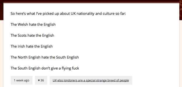 When they clocked the subtle regional differences that make the people of the British Isles so diverse.