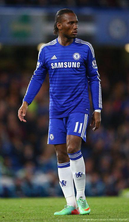 Ya no es lo mismo: Didier Drogba en favor del Chelsea FC.