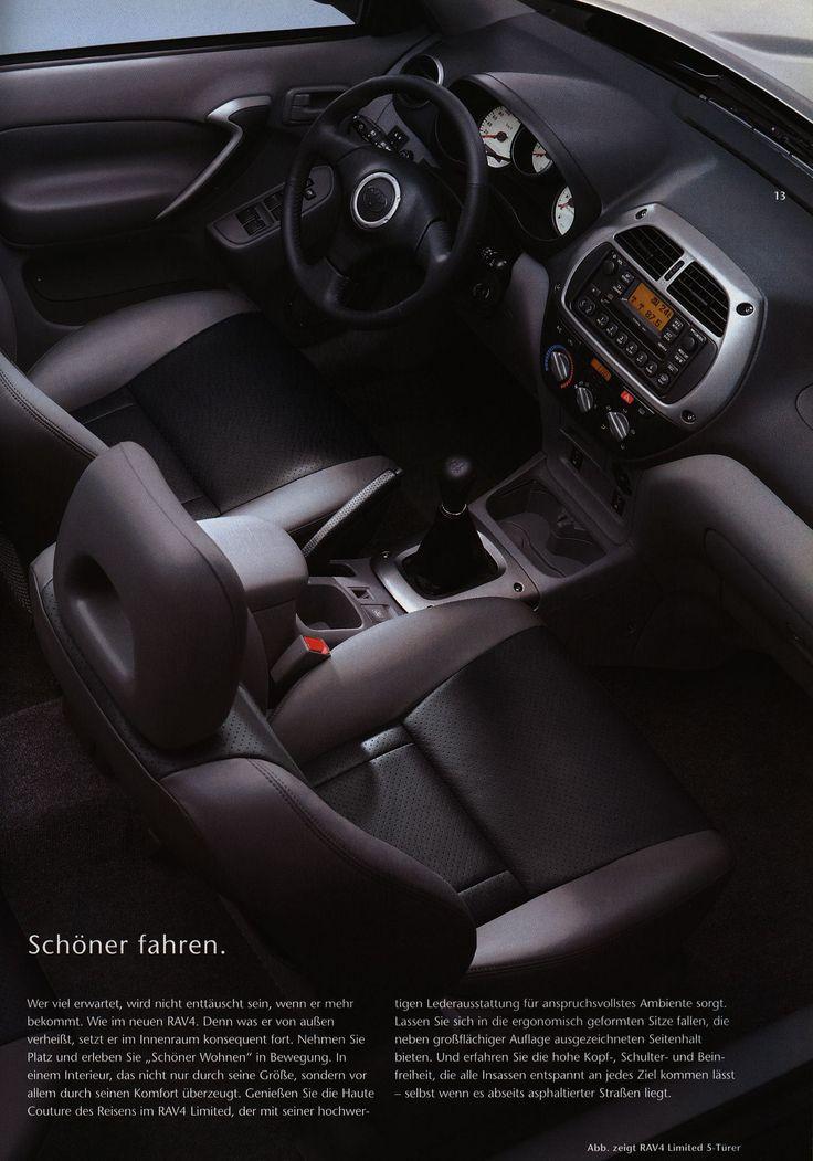 https://flic.kr/p/FLcsCr | Toyota RAV4 interior;  2000_2 | auto car brochure | by worldtravellib World Travel library