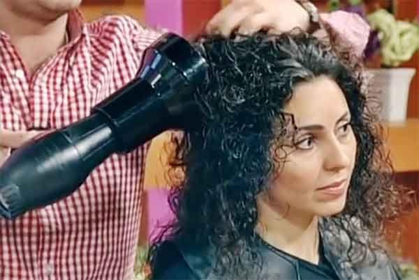 طريقة سشوار الشعر الكيرلي Curly Hair Styles Hair Hairstyle