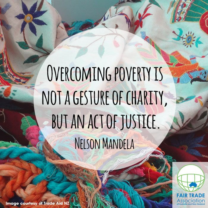 Fair Trade is not an act of charity, but a radical movement that challenges conventional trade practices #fairtrade