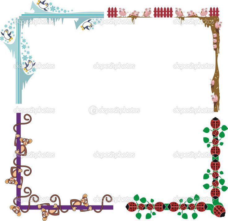 depositphotos_26773961-A-set-of-4-colored-animal-border-designs-vector-illustration-series..jpg (JPEG Image, 1024×993 pixels)