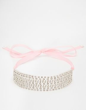 Erin Elizabeth For Johnny Loves Rosie Kera Ribbon Necklace