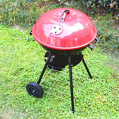 My HomeLover Kettle Charcoal BBQ Grill With 7 Piece Stainless Steel Barbecue Grill Tool Set in Storage Bag >>> Details can be found by clicking on the image.(This is an Amazon affiliate link and I receive a commission for the sales)