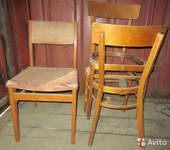 Старые стулья продаю— фотография №2