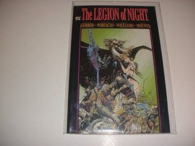 THE LEGION OF NIGHT # 1  BUY IT NOW FOR $.99+ SHIPPING!!!!!