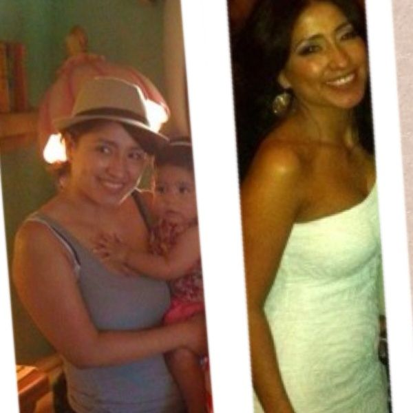 My before and after pictures after completing the P90X program. health-fitness