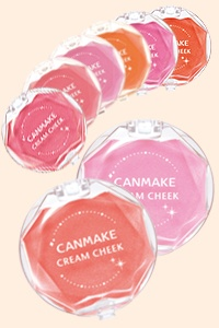 Canmake Cream Cheek blusher ¥609 (parent company IDA Laboratories listed by Japanese animal welfare group JAVA)