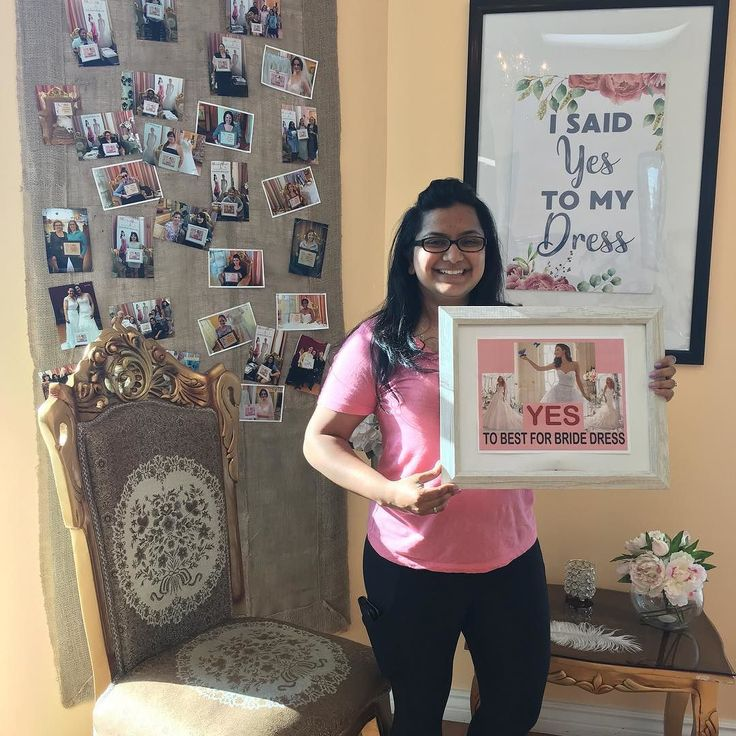 Look who said YES to the dress. Congratulations and best wishes to Gwen Mendes. Your Bridal Consultant: Pamela  Check out more brides who said Yes to The Dress here: http://crwd.fr/2wRDXnq. #bestforbride #weddingtoronto #hamiltonwedding #yestothedress #bridalwear #bridal #bridalgown #bridaldress