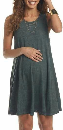 Lovely maternity swing dress #maternityoutfits #pregnancyaccessories,
