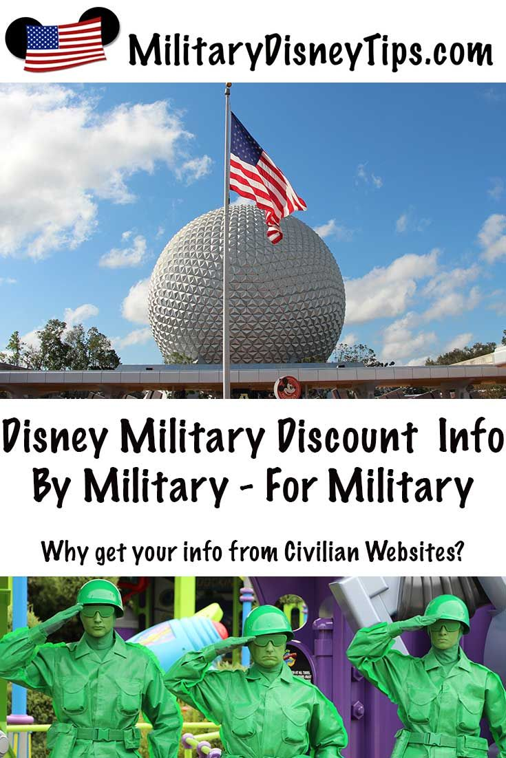 Disney Military Discount Information By Military For Military
