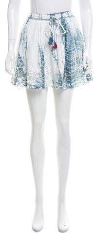 LoveShackFancy Phoebe Tie-Dye Skirt w/ Tags