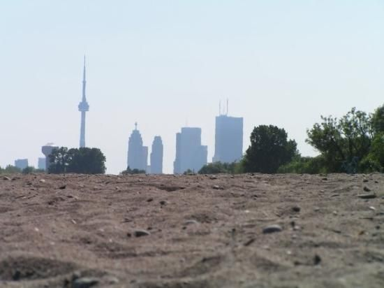 View of Downtown Toronto from The Beach - Pin by JillDenovan.com