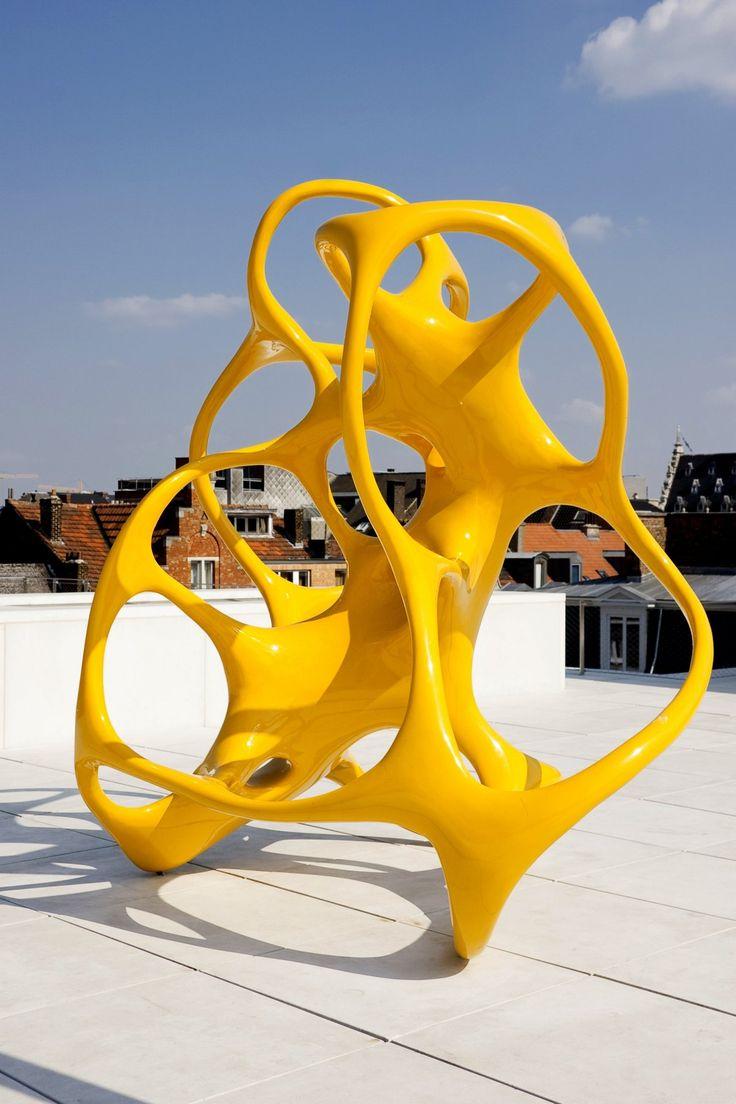 The Sculptural Work of Nick Ervinck